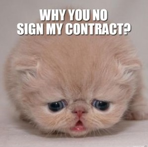 contract-negotiation-kitty